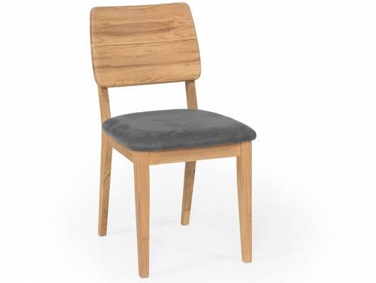 NETRON Esstischstuhl, Material Massivholz/Bezug Kunstleder