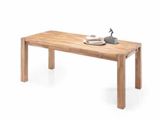 DAYTONA Esstisch 180x90 cm, Material Massivholz, Eiche geölt