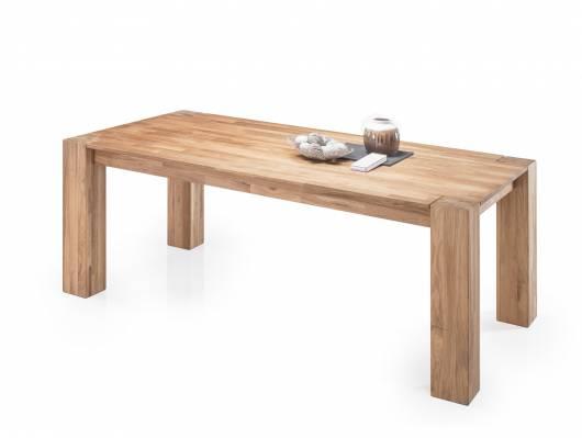WILLOW Esstisch 200x100 cm, Material Massivholz Eiche geölt