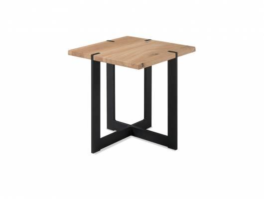 TAINA MINI Couchtisch / Beistelltisch 45x45 cm, Material Massivholz, Eiche massiv