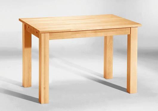 LUDWIG Esstisch/Tisch Buche lackiert 110 x 70 cm