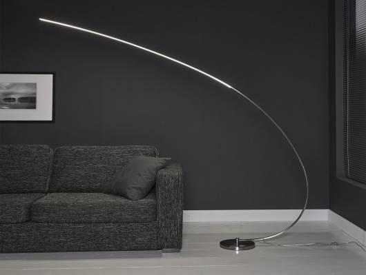 EMA Bogen-Stehlampe dimmbar XL LED 18W
