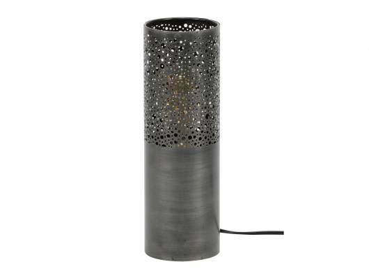 TABITA Tischlampe in Zylinderform, schmal