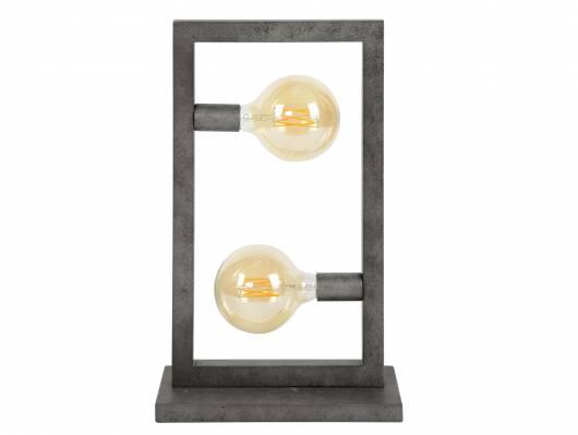 RANDA Tischleuchte, 2 Leuchten, Material Metall