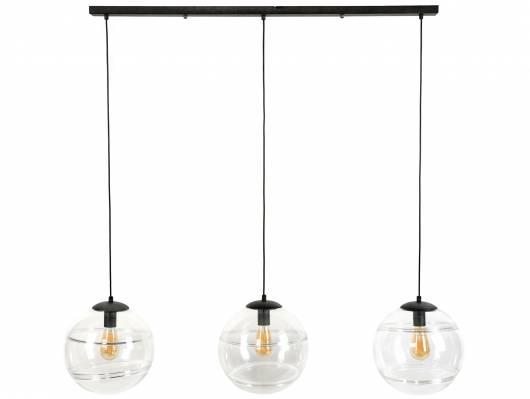 ROBINO Pendelleuchte mit 3 Leuchten, Material Metall