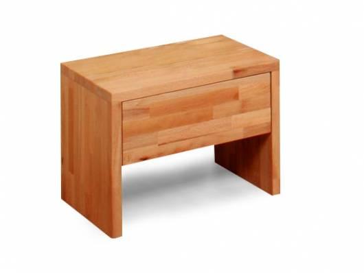 LÖWEN Nachtkommode mit 1 Schublade, Material Massivholz