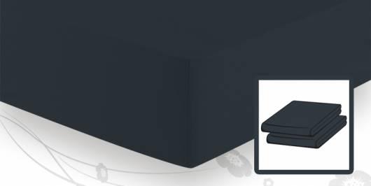 Schlafgut ELASTIC-JERSEY Spannbetttuch/Spannbettlaken 90x220 bis 100x220