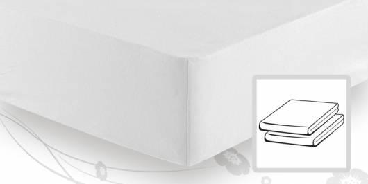 Schlafgut BASIC MAKO-Jersey Spannbettlaken 90x200 bis 100x200 cm
