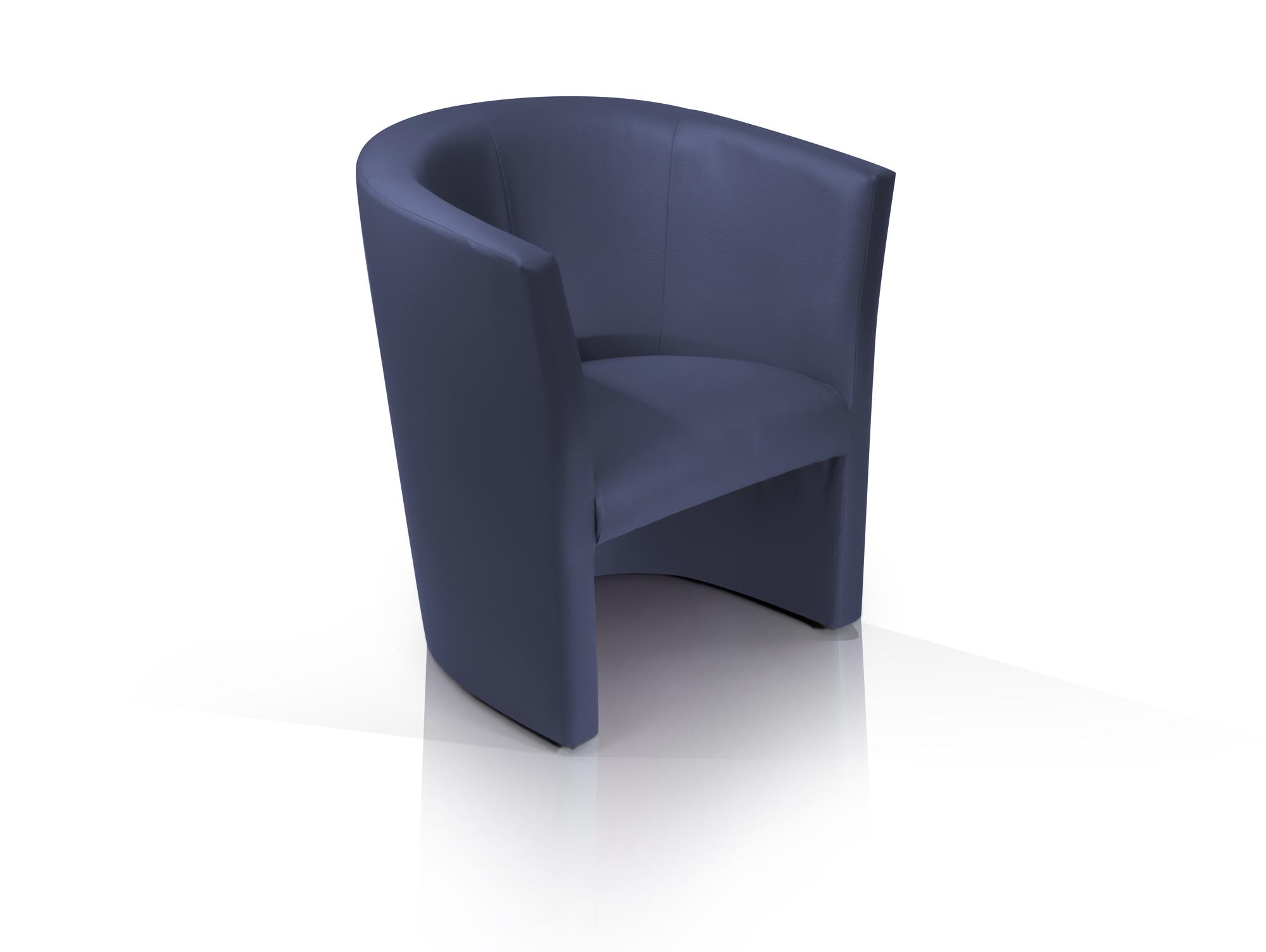 Cocktailsessel blau for Design stuhl charly