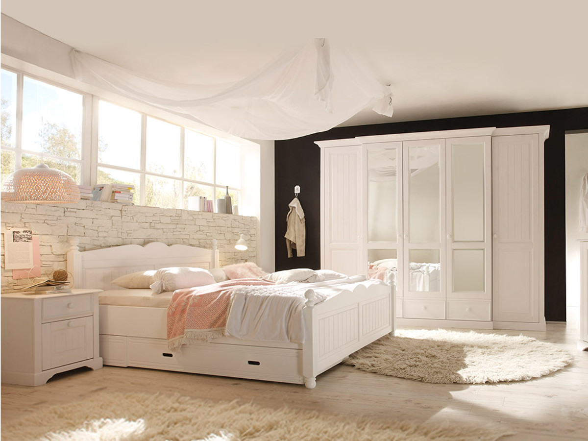 kiefer schlafzimmer g nstig kaufen. Black Bedroom Furniture Sets. Home Design Ideas