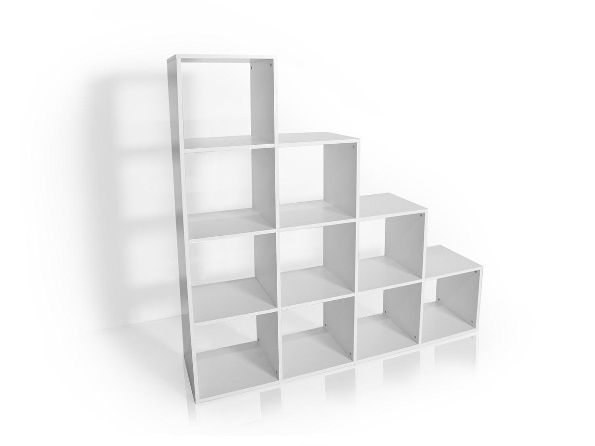 lalena regal treppe gro weiss. Black Bedroom Furniture Sets. Home Design Ideas