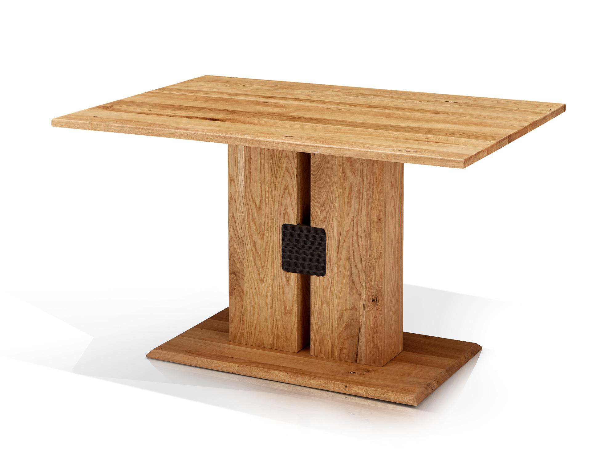 marbel esstisch wildeiche ge lt 130 x 90 cm. Black Bedroom Furniture Sets. Home Design Ideas