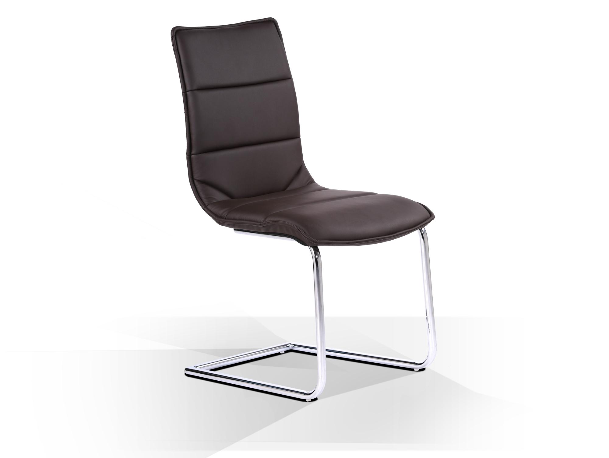 milano freischwinger kunstlederbezug braun. Black Bedroom Furniture Sets. Home Design Ideas