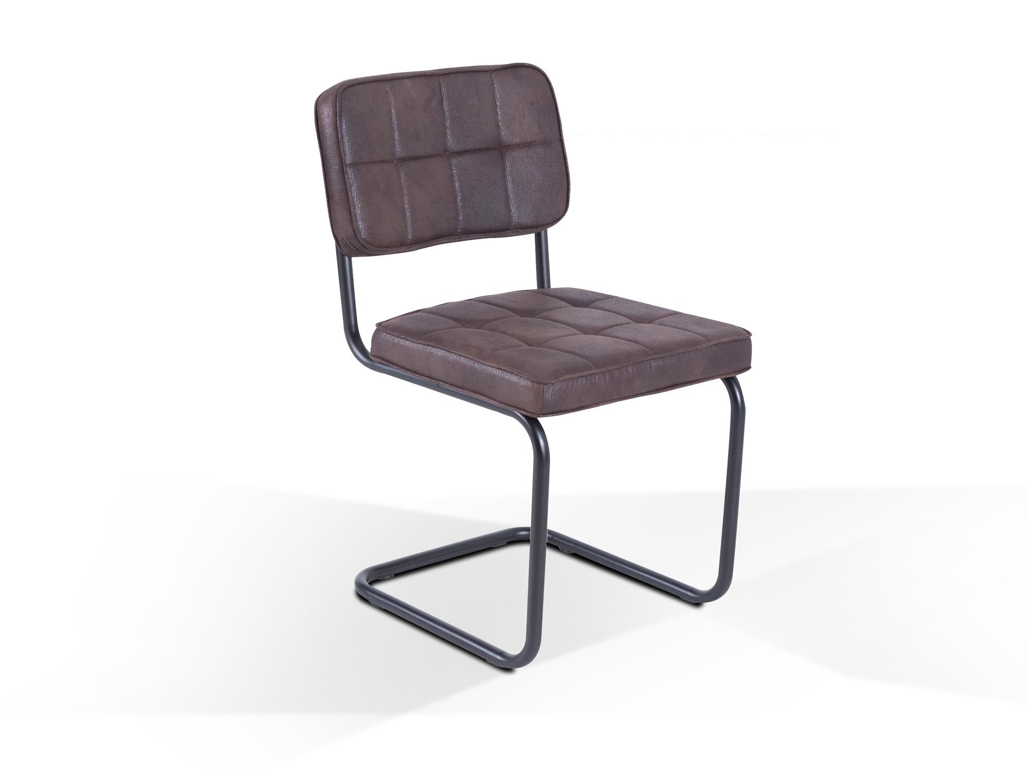 montana schwingstuhl schwarz dunkelbraun. Black Bedroom Furniture Sets. Home Design Ideas