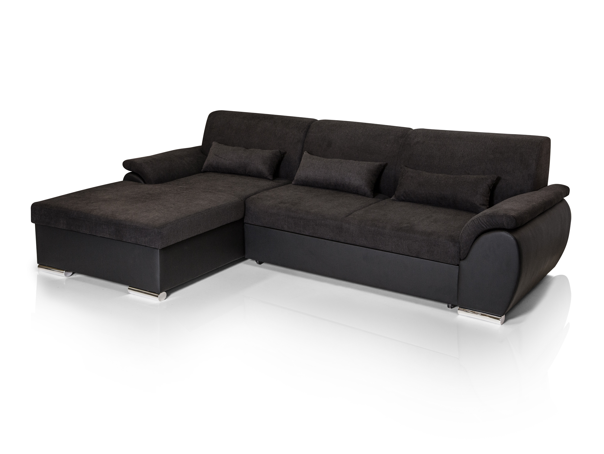salzburg ecksofa mit bettfunktion links. Black Bedroom Furniture Sets. Home Design Ideas