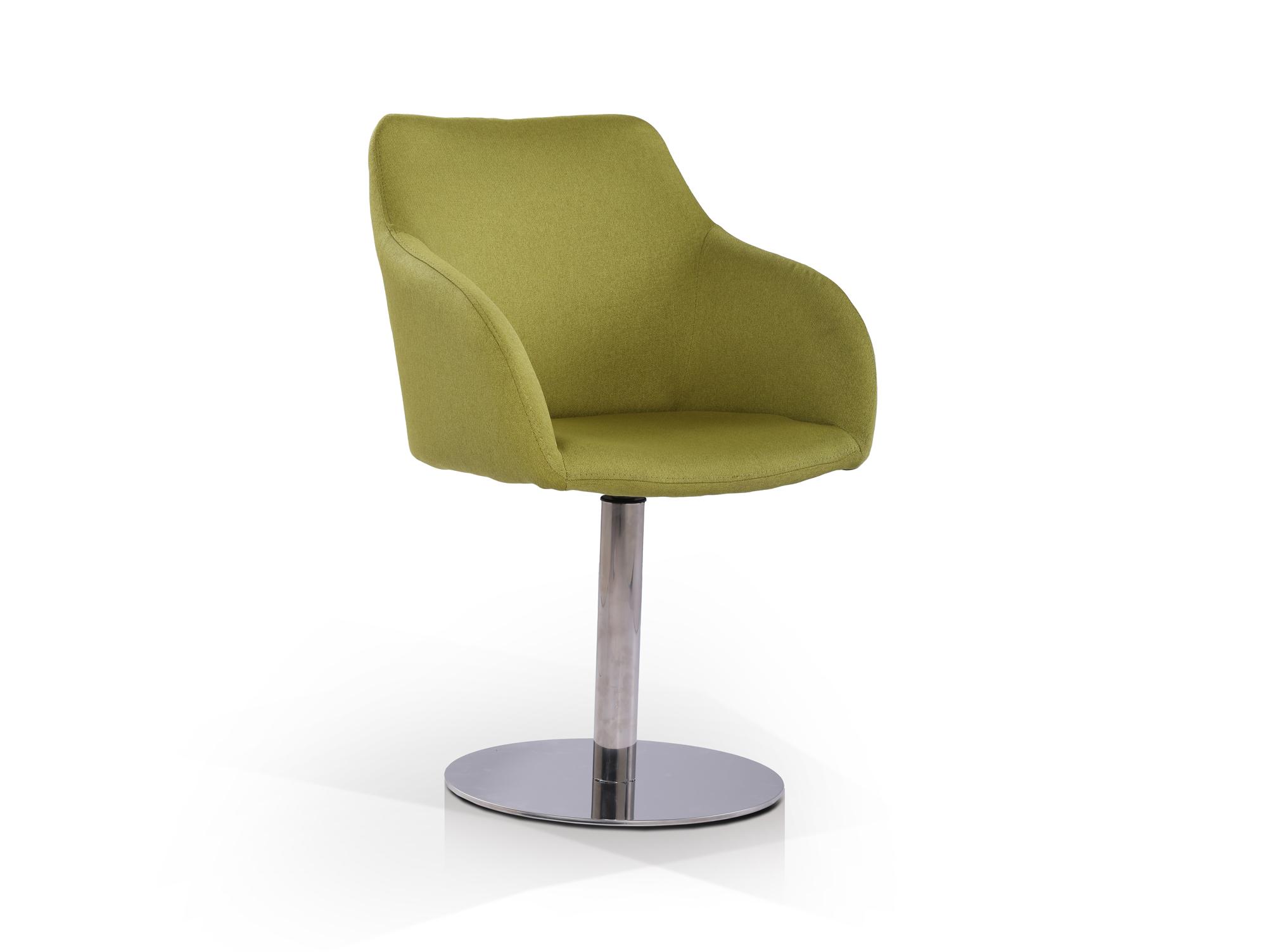 tobe schalendrehstuhl esszimmerstuhl mit stoffbezug gr n. Black Bedroom Furniture Sets. Home Design Ideas