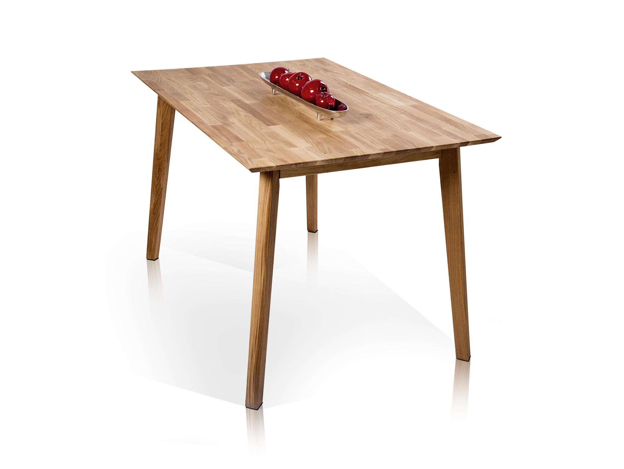 vincent esstisch 120 x 80 cm eiche. Black Bedroom Furniture Sets. Home Design Ideas
