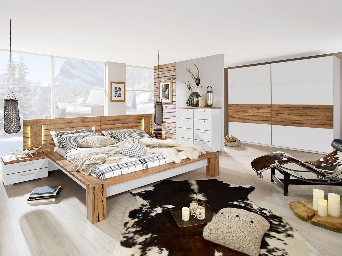 Schlafzimmer Komplett Weiß Günstig – MiDiR
