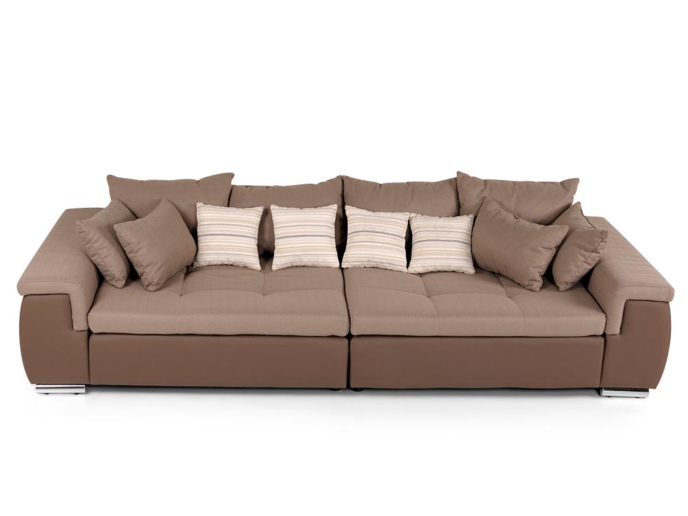 big sofa braun g nstig kaufen. Black Bedroom Furniture Sets. Home Design Ideas