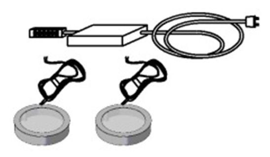 ILONA 2er LED-Unterbaustrahler