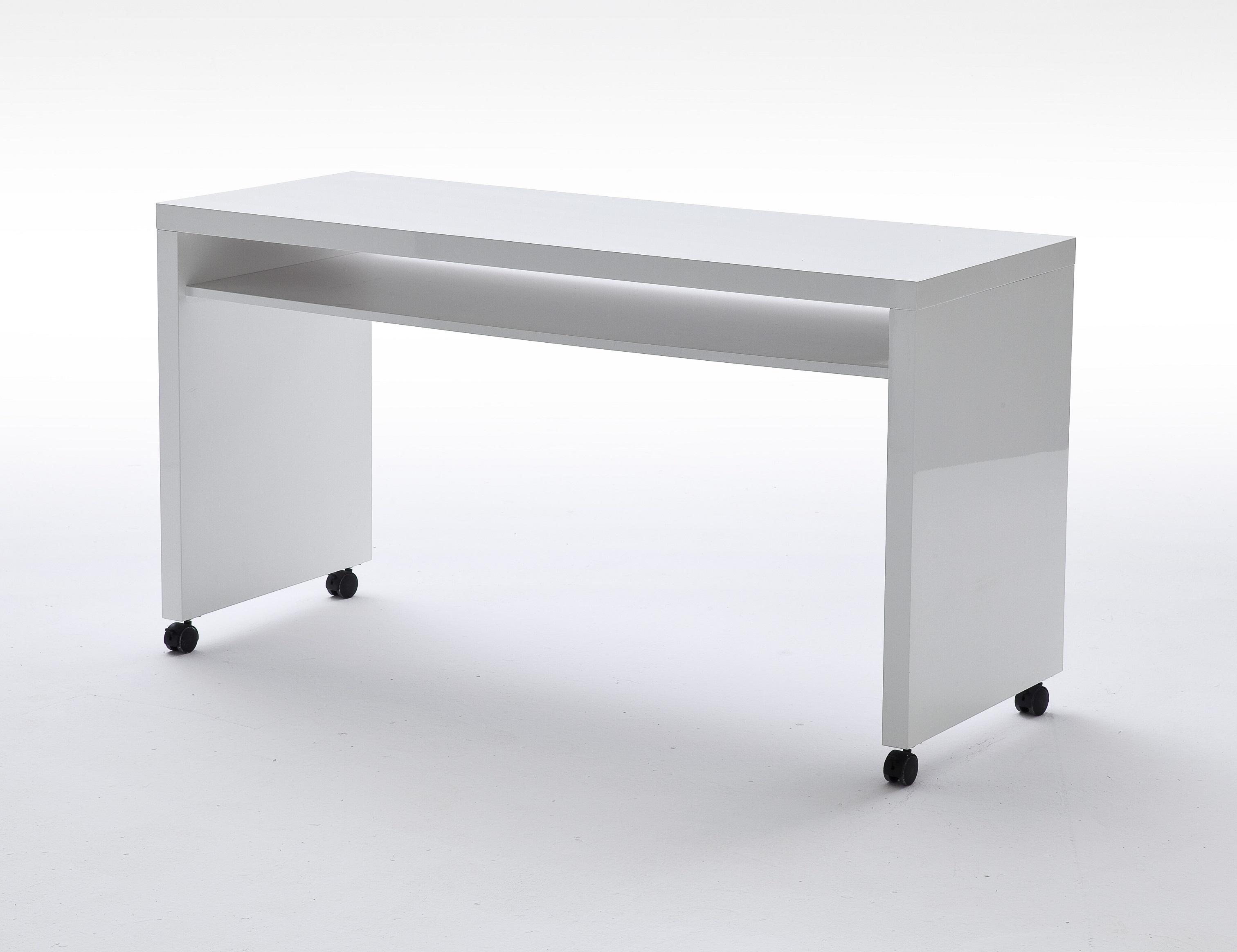 hochglanz schreibtisch wei g nstig kaufen. Black Bedroom Furniture Sets. Home Design Ideas