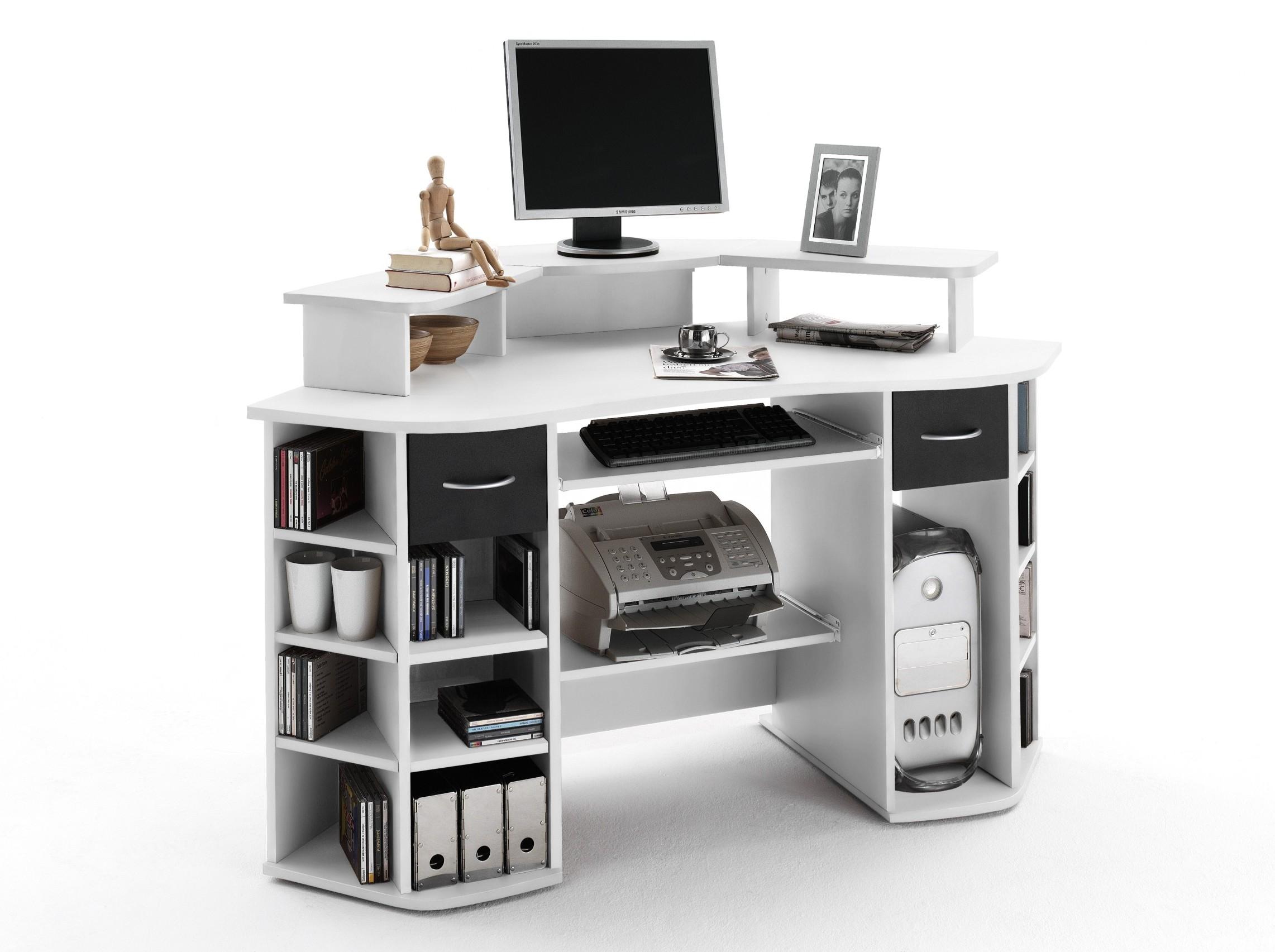 computer schreibtisch mit aufsatz g nstig kaufen. Black Bedroom Furniture Sets. Home Design Ideas