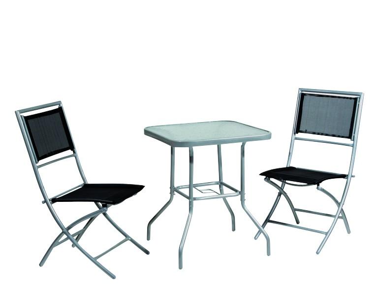 balkon set mirador 3 tlg grau von roller ean 04009977947178. Black Bedroom Furniture Sets. Home Design Ideas
