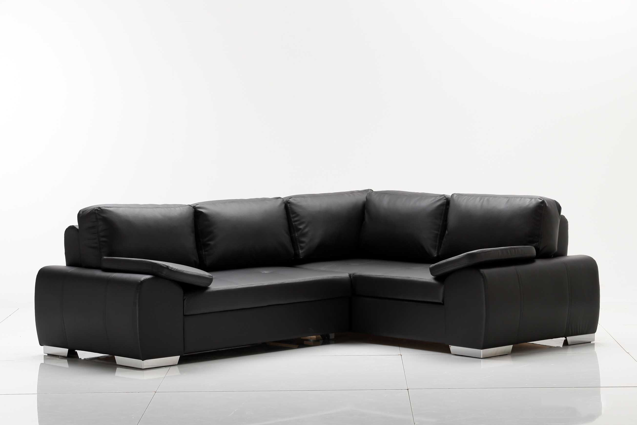 ecksofa weiss kunstleder g nstig kaufen. Black Bedroom Furniture Sets. Home Design Ideas