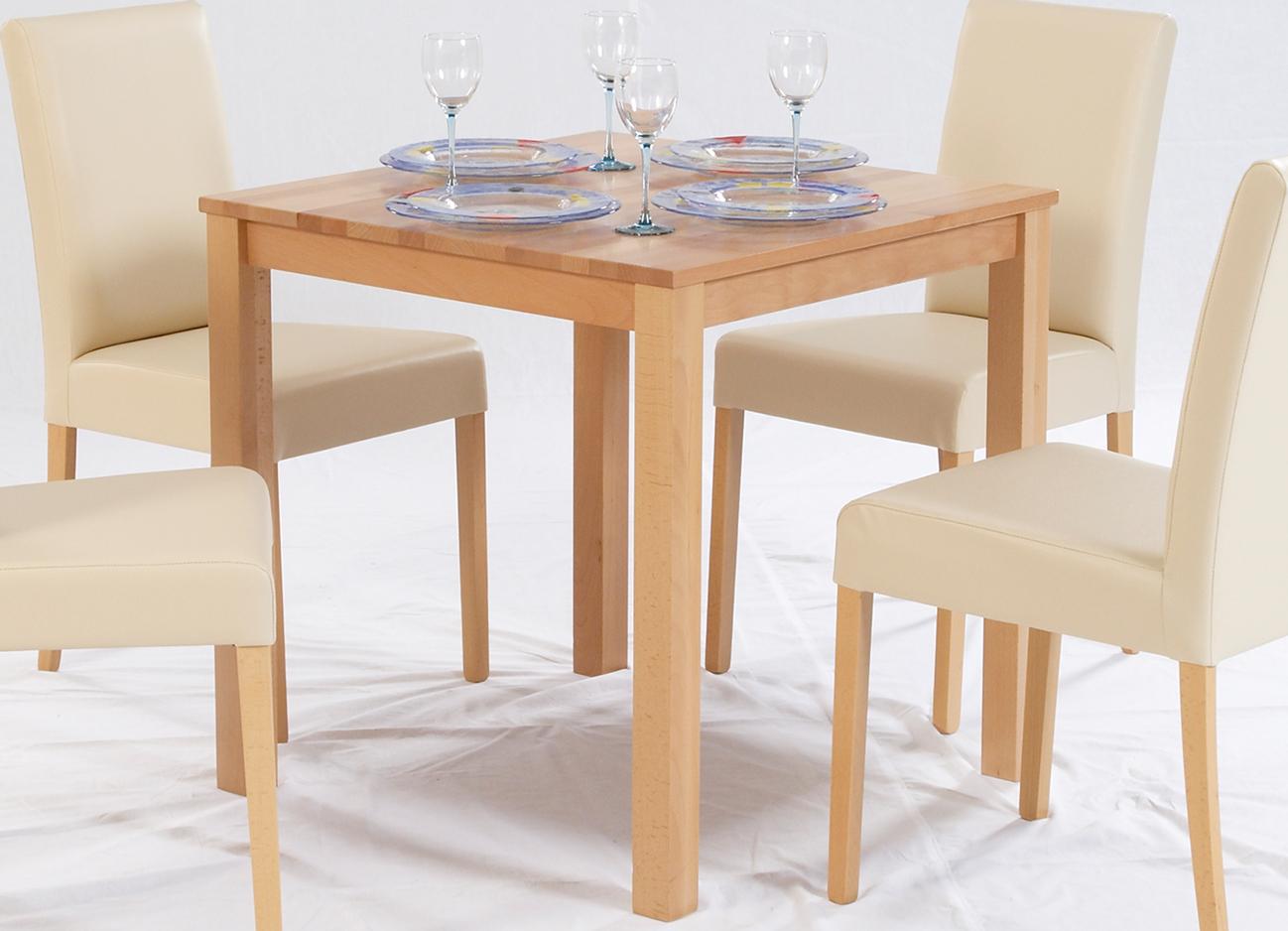esstisch massivholz buche 100 fsc tomas esszimmertisch massivholz tisch 75 x 75 x 75 cm. Black Bedroom Furniture Sets. Home Design Ideas