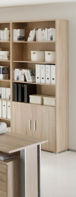 office line schrank 2 t ren eiche sonoma dekor. Black Bedroom Furniture Sets. Home Design Ideas
