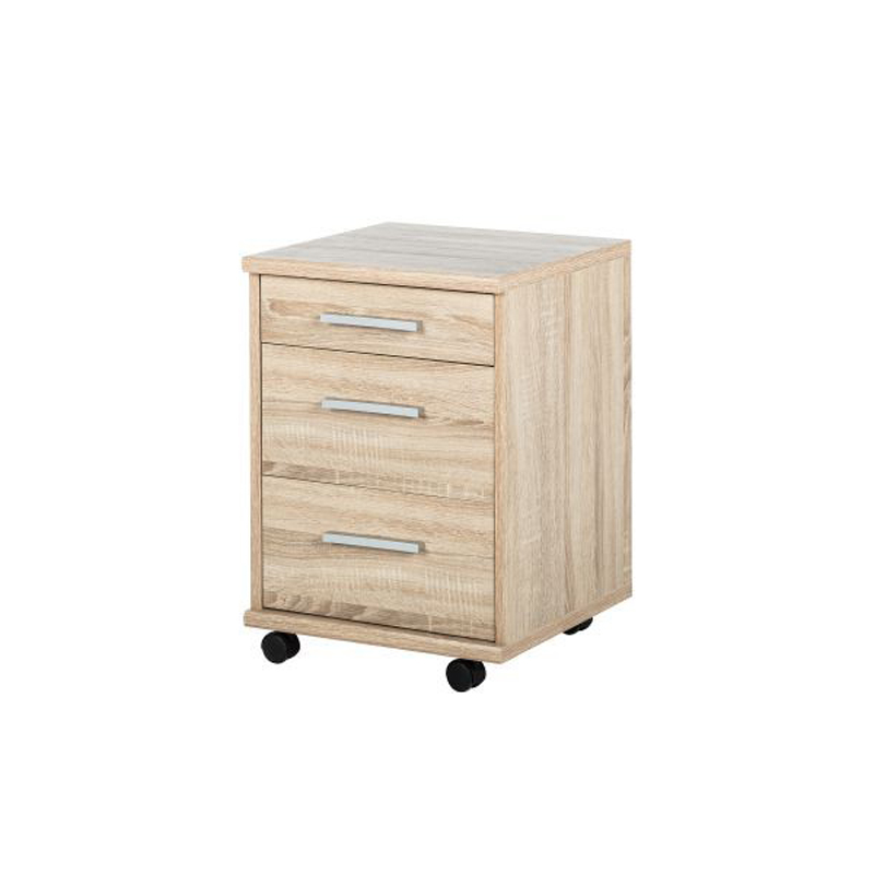 office line rollcontainer eiche sonoma. Black Bedroom Furniture Sets. Home Design Ideas