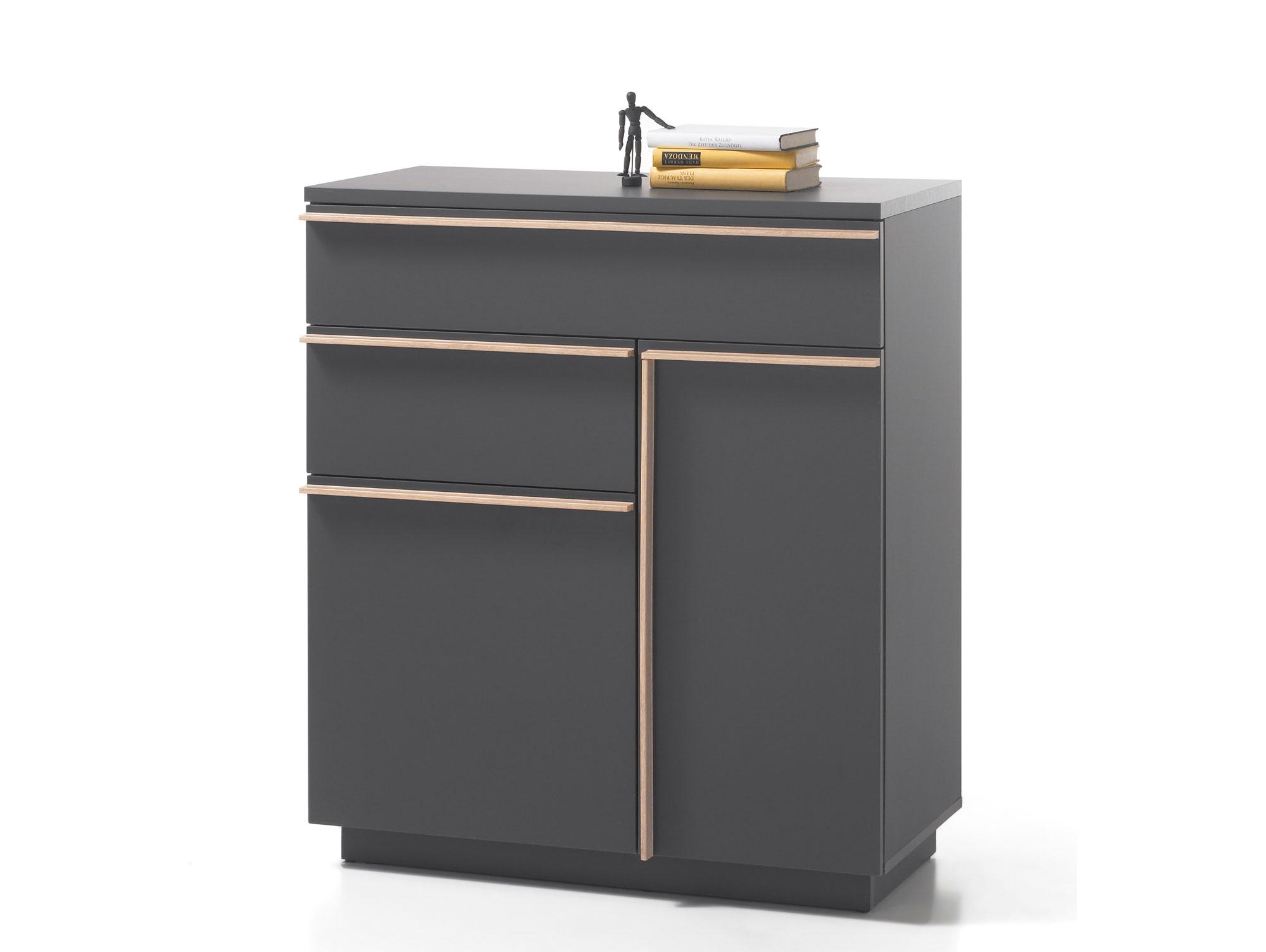 Kommode eiche sonoma grau g nstig kaufen for Schreibtisch yoop
