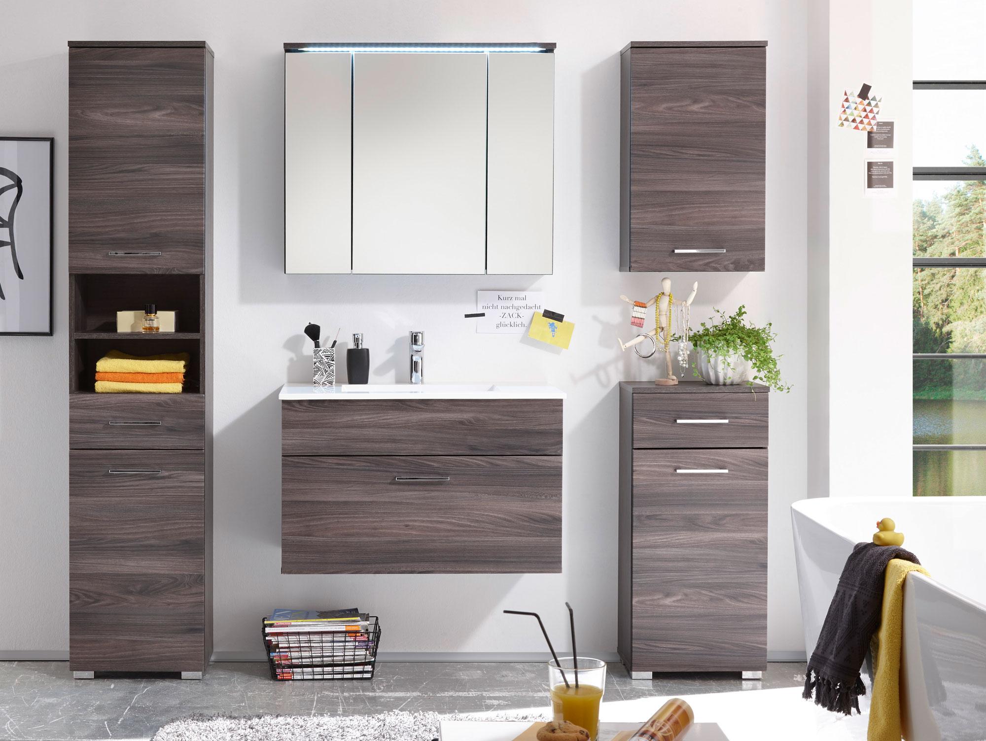 Vorschaubild von SALOME Badezimmer-Set 5tlg Sangallo