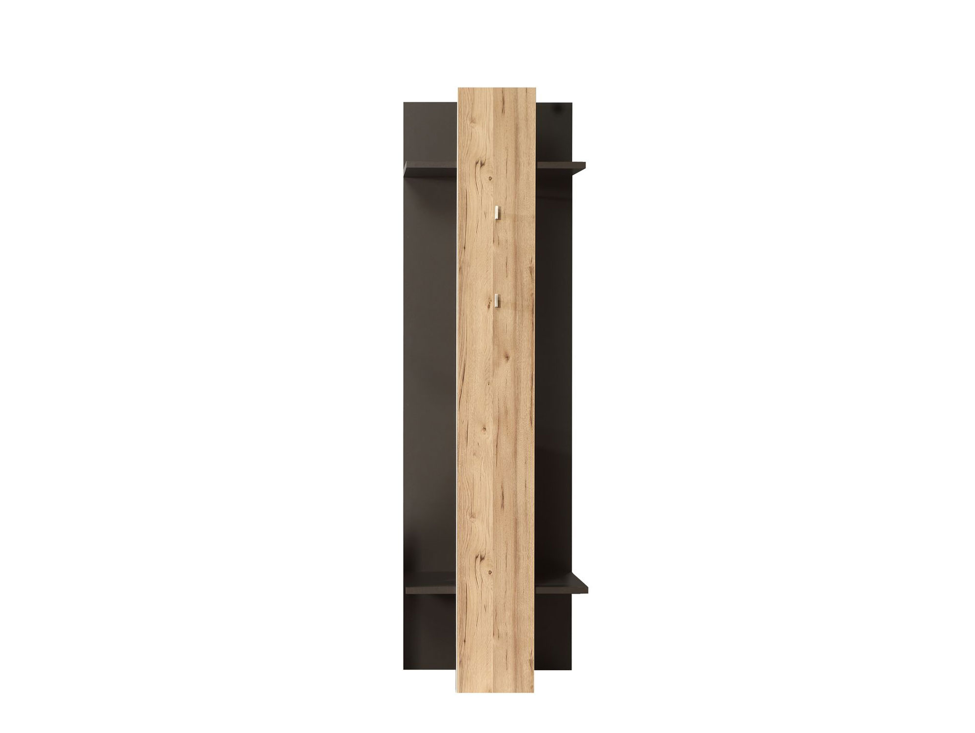 Garderobenpaneel clara grau planked eiche for Garderobenpaneel grau