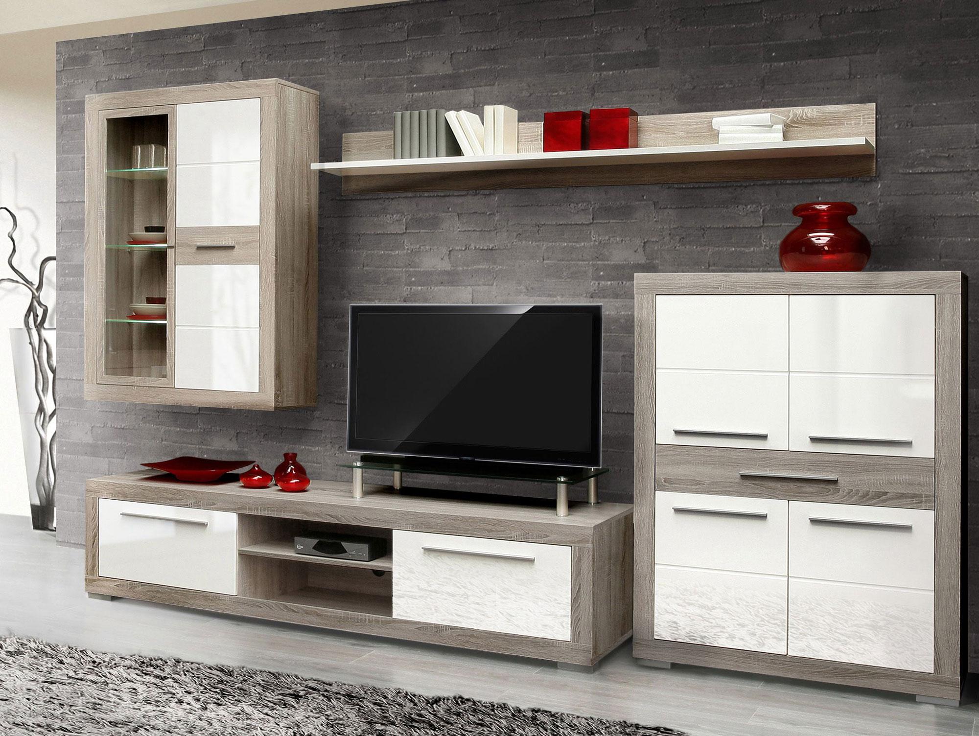 Emejing Wohnzimmer Eiche Grau Images