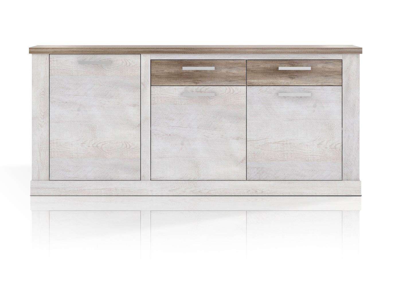 dagur sideboard pinie wei eiche antik. Black Bedroom Furniture Sets. Home Design Ideas