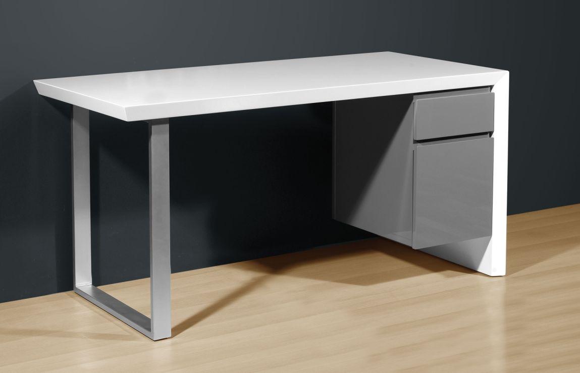 Cool Schreibtisch Weiß Grau Foto Von Buero Schreibtische - B2b-trade