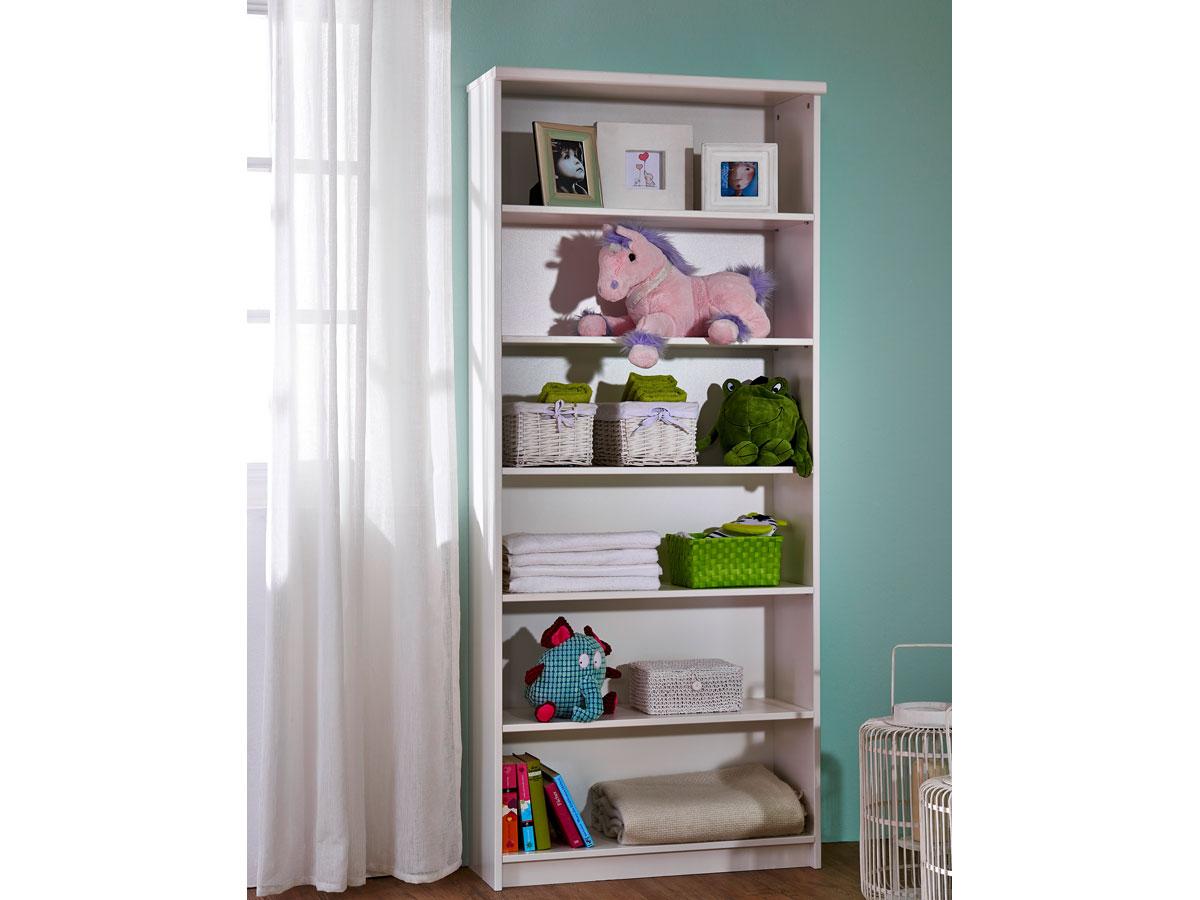 b cherregal weiss g nstig kaufen. Black Bedroom Furniture Sets. Home Design Ideas