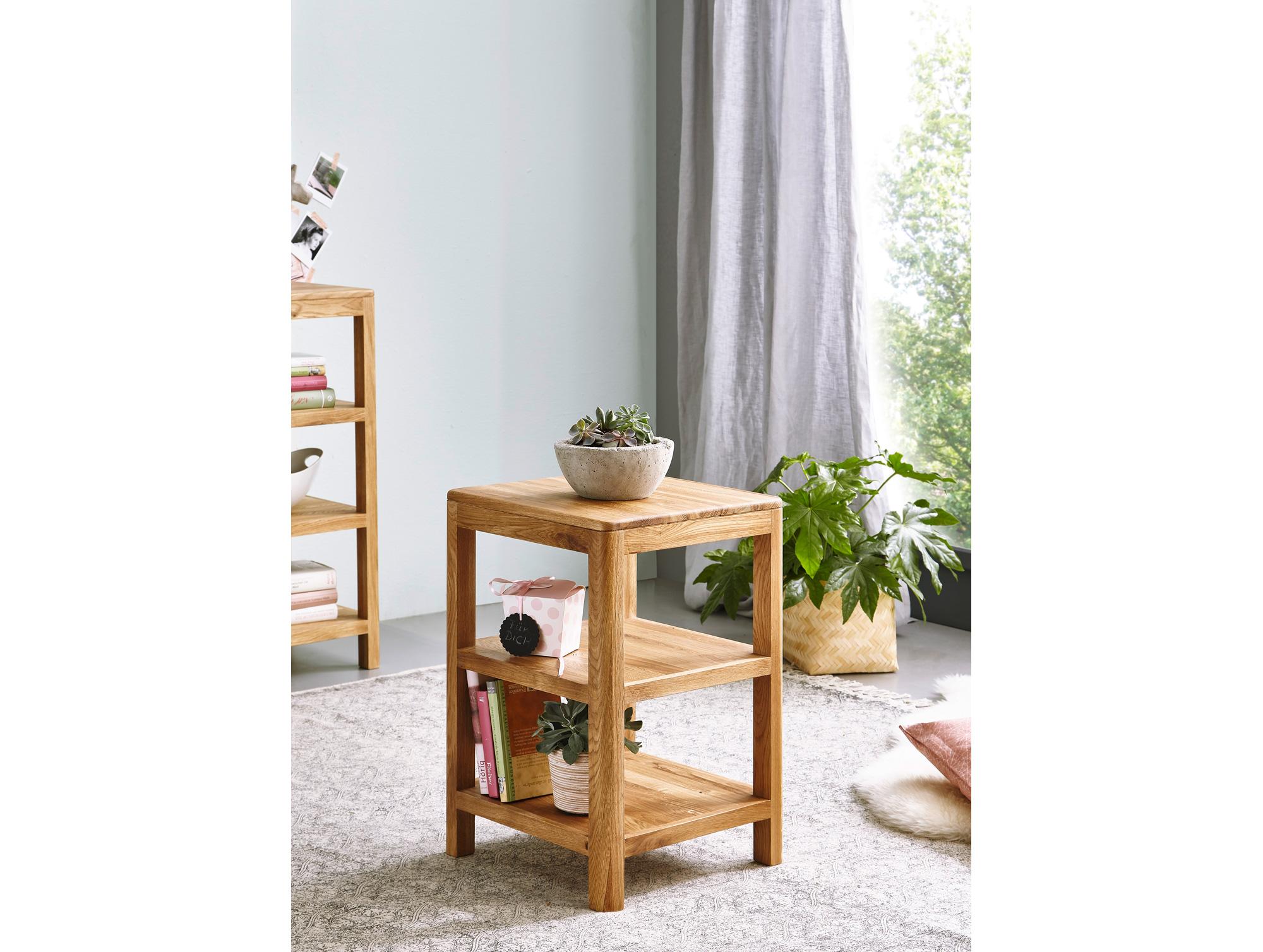 verona regal wildeiche massiv ge lt 60 cm. Black Bedroom Furniture Sets. Home Design Ideas