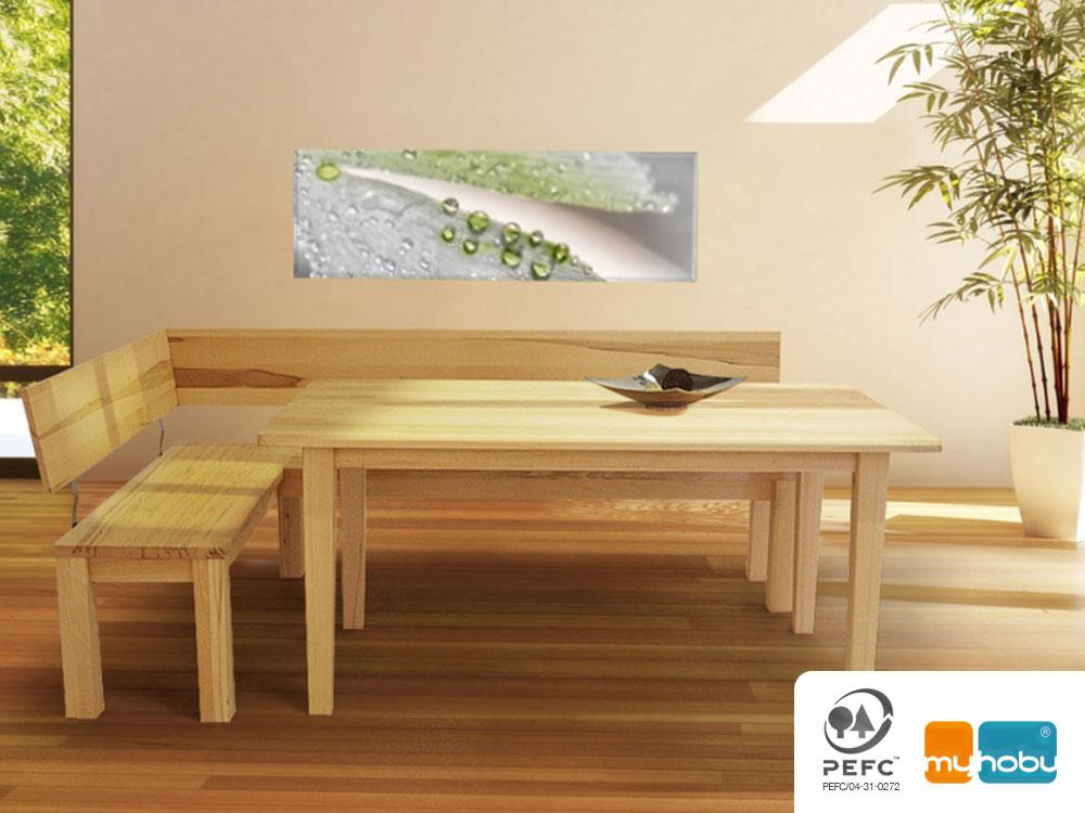 Esstisch Massivholz Sumpfeiche : TOSCANA Esstisch  Massivholztisch  Maßesstisch