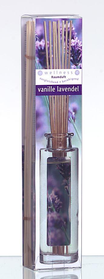 Raumduft / Raumerfrischer WELLNESS Vanille Lavendel 120ml