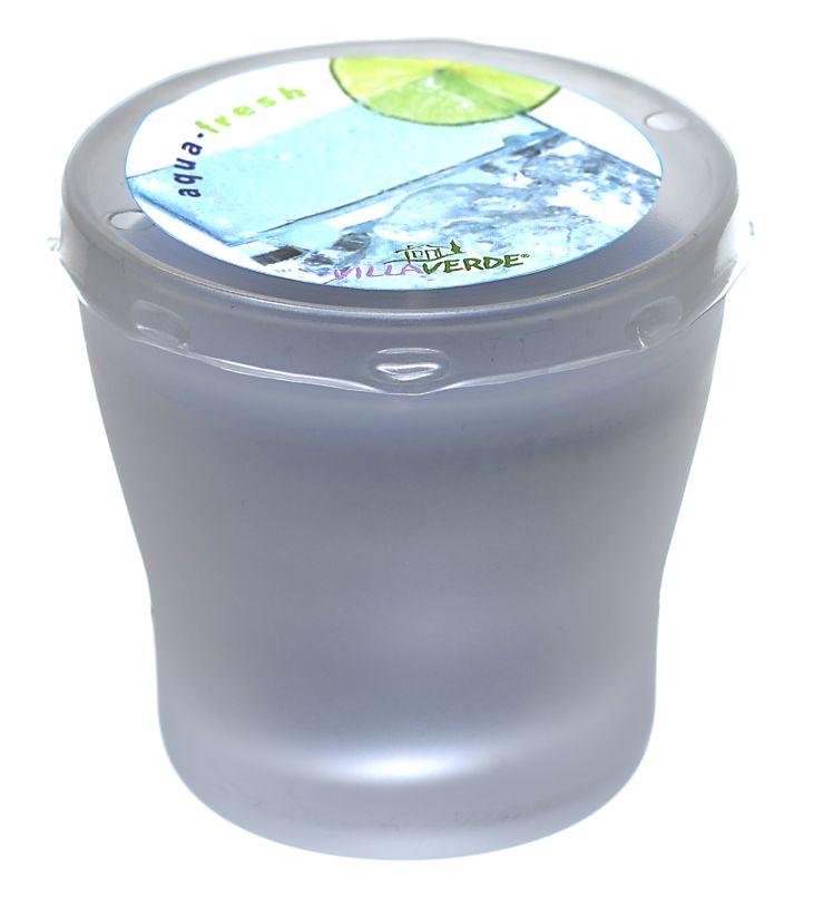 Duftkerze FIORA Aqua-Fresh 7,5 cm hoch