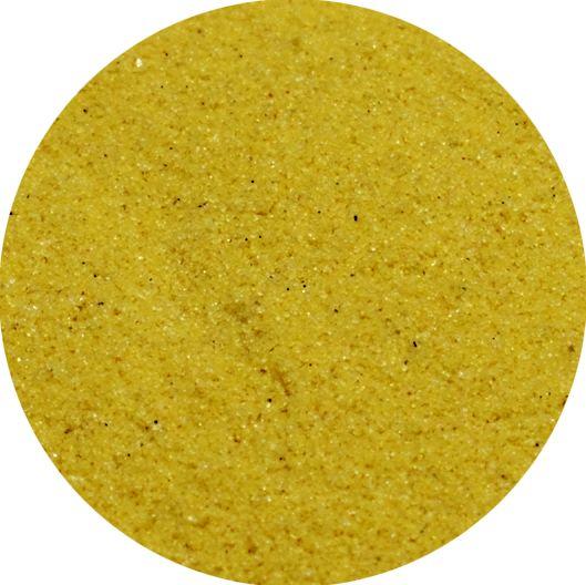 Farbsand / Dekosand 0,1-0,3 mm gelb im 666ml Stehbeutel