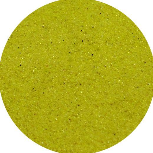 Farbsand / Dekosand 0,1-0,3 mm apfelgrün im 666ml Stehbeutel
