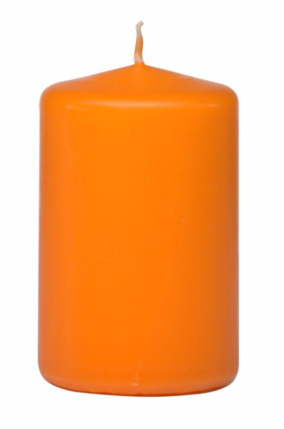 Kerze orange in Cello