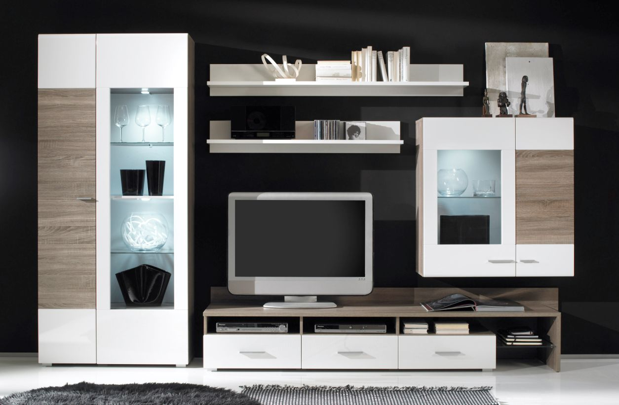 wohnw nde aus eiche sch ne m bel online kaufen seite 6. Black Bedroom Furniture Sets. Home Design Ideas
