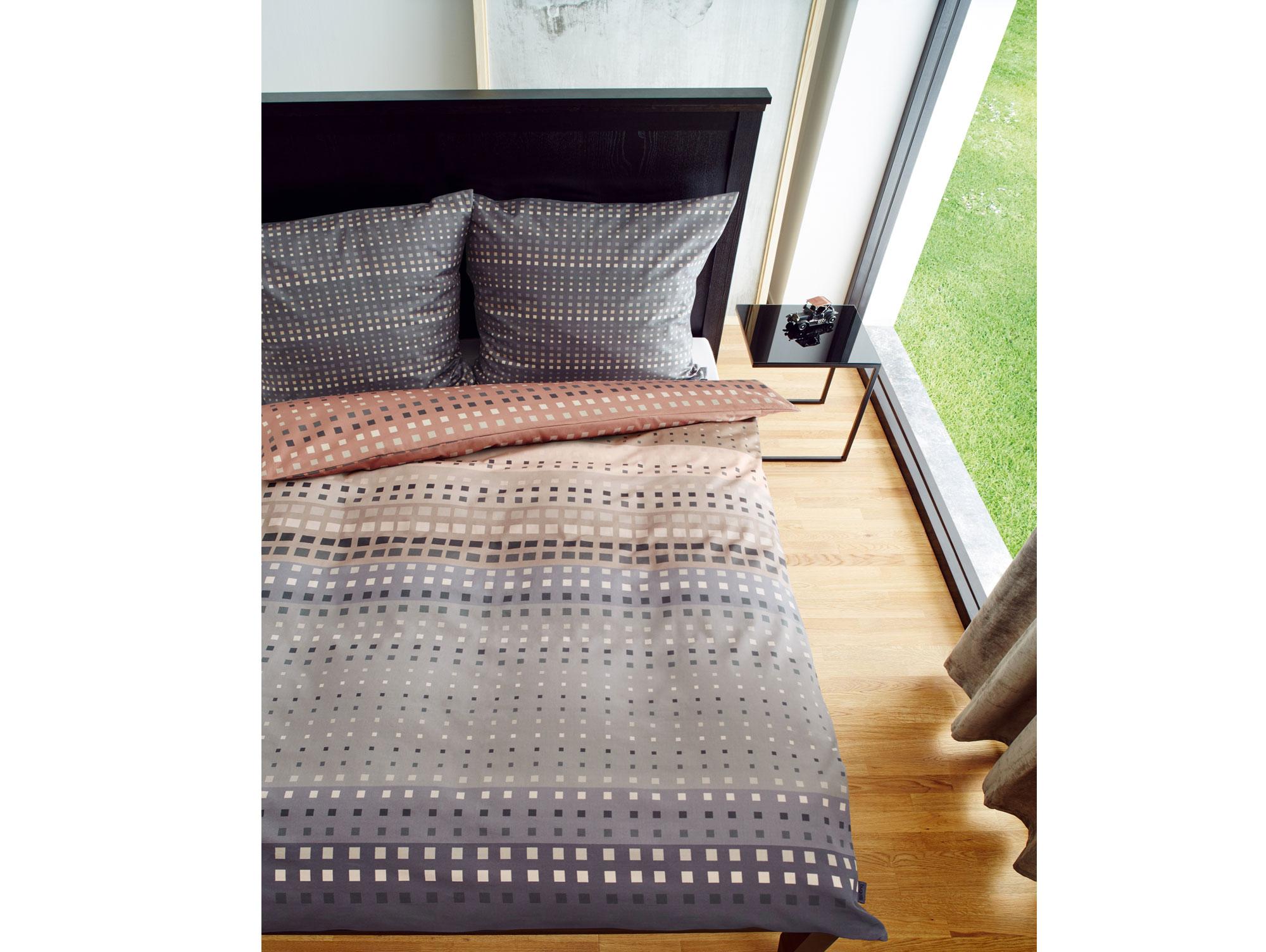 bugatti bettw sche makosatin 135x200 80x80 cm mako satin. Black Bedroom Furniture Sets. Home Design Ideas