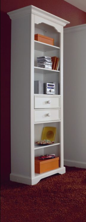 cinderella standregal 5 f cher 2 sk kiefer wei g nstig liefern lassen sch ne. Black Bedroom Furniture Sets. Home Design Ideas