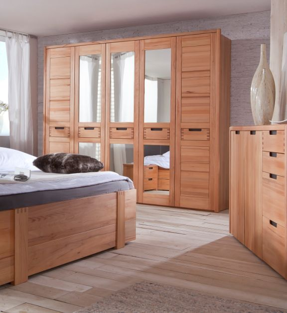kleiderschrank kernbuche g nstig kaufen. Black Bedroom Furniture Sets. Home Design Ideas