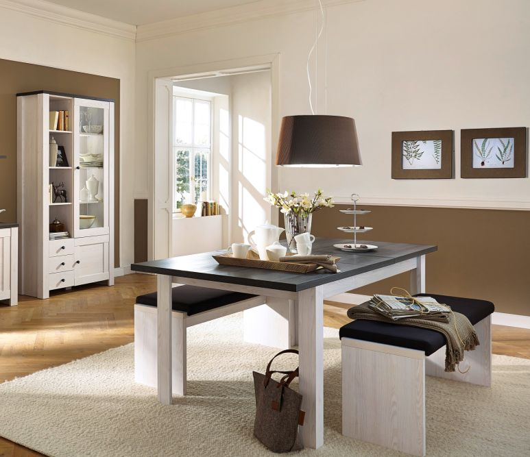 esstisch ausziehbar h he dunkel g nstig kaufen. Black Bedroom Furniture Sets. Home Design Ideas